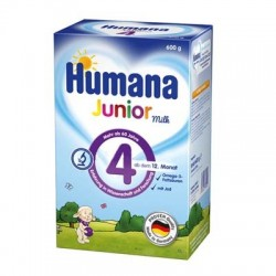 Lapte praf Humana Junior Milch 4 600gr