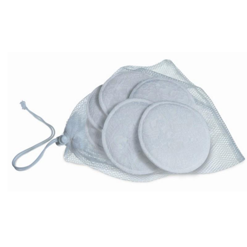 AVENT Tampoane san lavabile cu saculet spalare 6buc