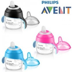 Philips AVENT Cana transparenta 6 luni 200 ml