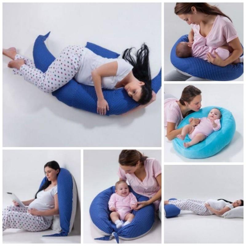 Perna pentru sarcina si alaptare multifunctionala DreamWizard Nuvita