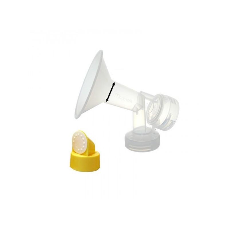 Maymom Cupa cu supapa pentru pompa de san 17 mm