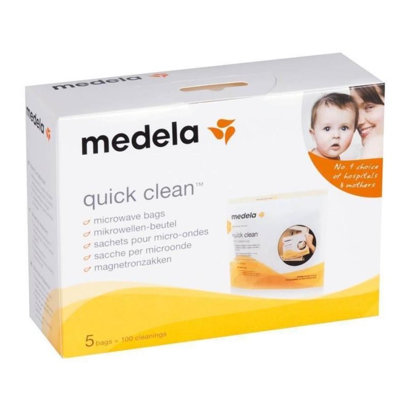 Pungi sterilizare pompa Medela Quick Clean 5 buc