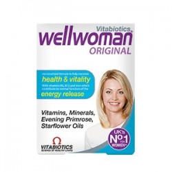 Wellwoman Original Vitabiotisc 30 Tablete