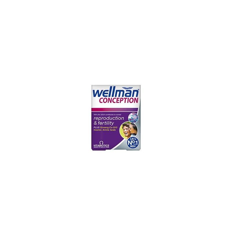 Wellman Conception tablete pentru reproductie si fertilitate Vitabiotics