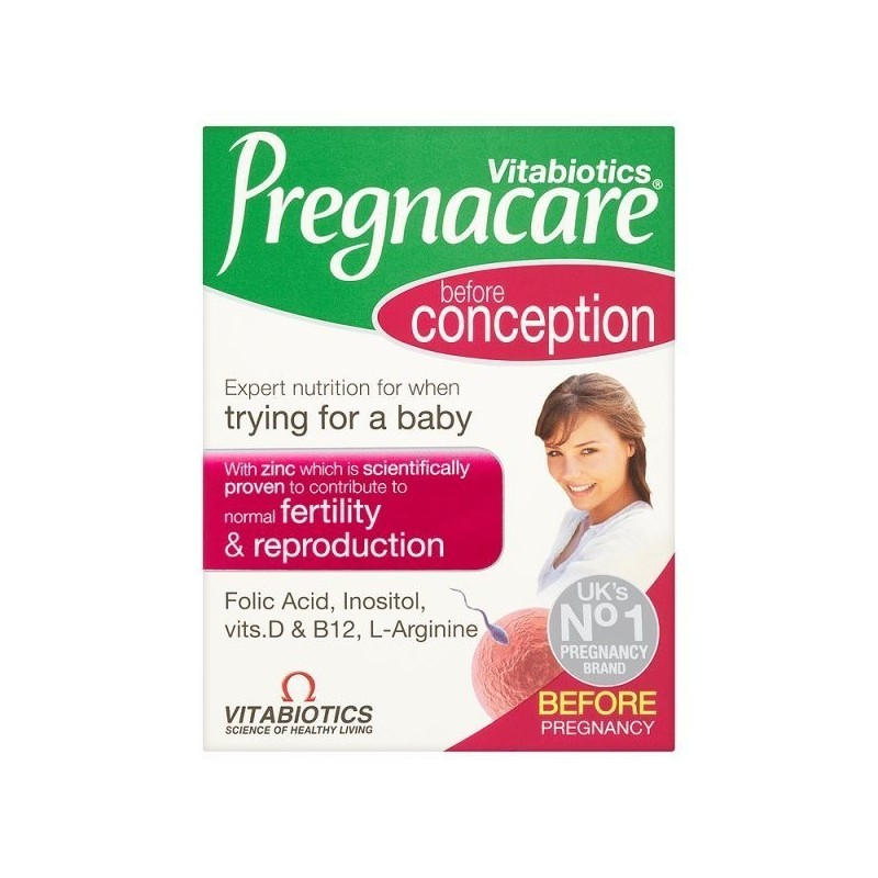 Pregnacare Conception tablete Vitabiotics 30 buc