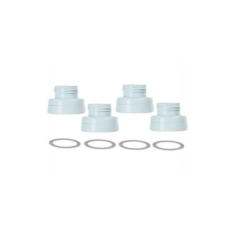 Filet adaptor pentru cupele Maymom la biberoanele Spectra 4buc/set