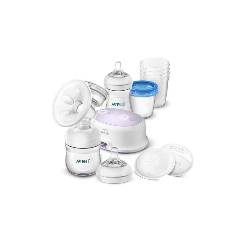 Set de alaptare cu pompa de san electrica Comfort Philips Avent SCD223/00